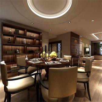 富裕型140平米四室两厅现代简约风格餐厅装修效果图