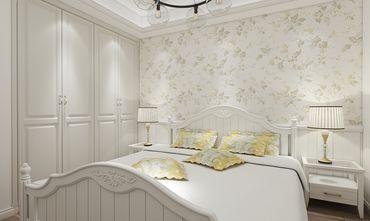 100平米三室一厅田园风格卧室效果图
