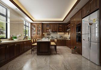 140平米别墅英伦风格厨房图片大全