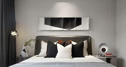 100平米三室两厅地中海风格卧室装修图片大全
