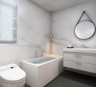 100平米三室一厅美式风格卫生间图片大全