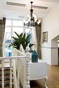豪华型140平米四室三厅地中海风格阳台图