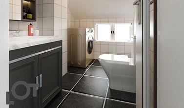 140平米四室三厅北欧风格卫生间欣赏图