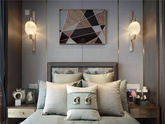 120平米三室一厅英伦风格卧室装修效果图