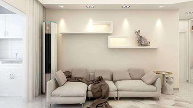 10-15万90平米现代简约风格客厅欣赏图