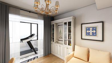 130平米三室两厅美式风格阳台装修图片大全