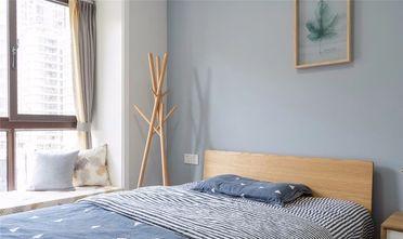 100平米三室一厅北欧风格卧室欣赏图