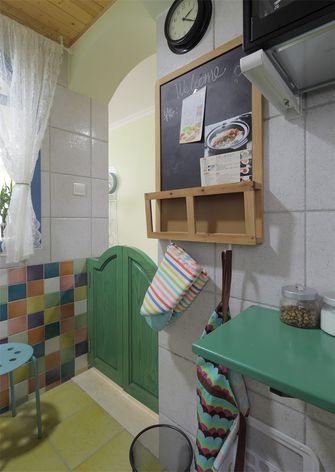 110平米三室三厅地中海风格餐厅图片