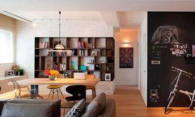 經濟型110平米混搭風格餐廳圖片