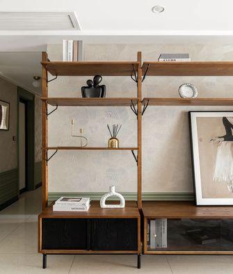 90平米三室两厅田园风格书房设计图
