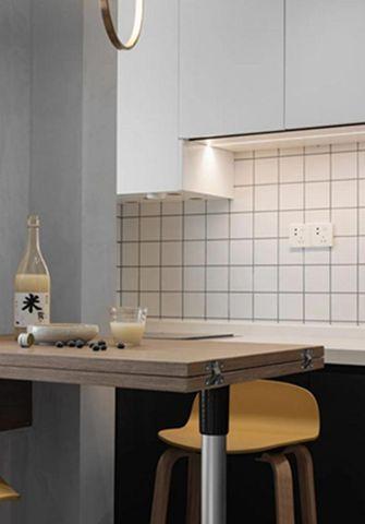 30平米小户型现代简约风格餐厅图片