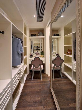 140平米三室两厅欧式风格衣帽间装修效果图