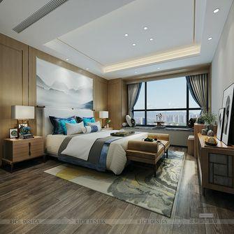 140平米三室一厅中式风格卧室装修图片大全