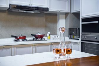 20万以上140平米三室两厅新古典风格厨房图片