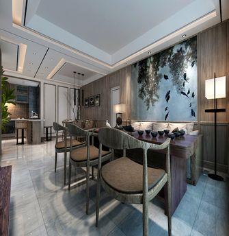 140平米三室两厅欧式风格餐厅背景墙效果图