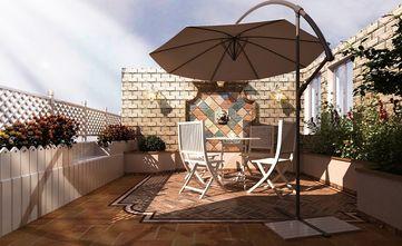 140平米复式欧式风格阳台效果图
