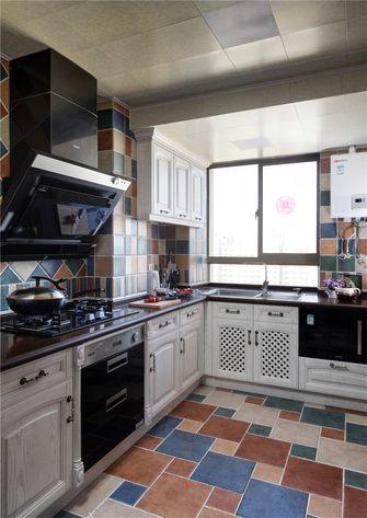 110平米三室两厅地中海风格厨房图