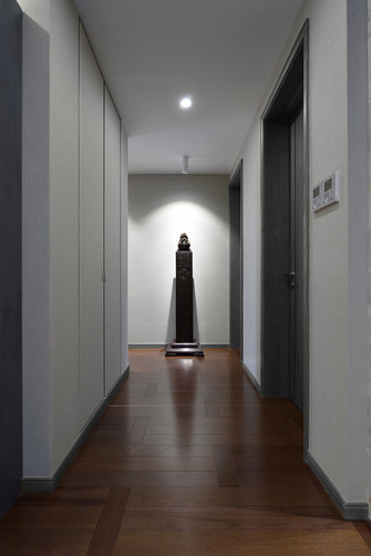 null风格走廊欣赏图