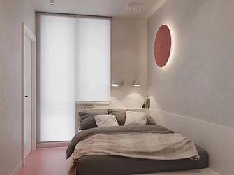 50平米一室一厅现代简约风格卧室装修效果图