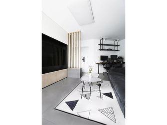 60平米现代简约风格客厅装修图片大全