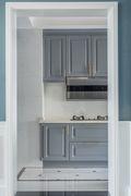 140平米三室四厅混搭风格厨房设计图