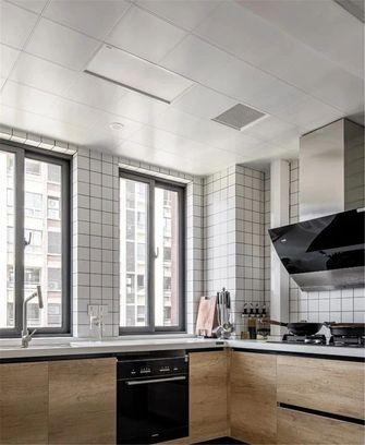 120平米三室一厅日式风格厨房图