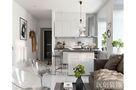 80平米一室两厅宜家风格厨房图片大全