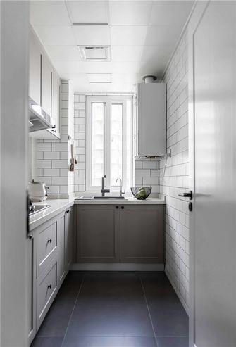 5-10万90平米三室一厅现代简约风格厨房装修图片大全