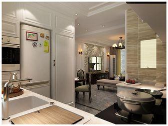 100平米美式风格厨房图