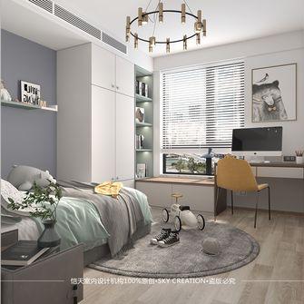 富裕型140平米四室一厅现代简约风格儿童房欣赏图