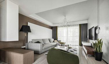 5-10万140平米三室两厅混搭风格客厅图