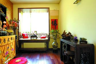 15-20万130平米四室一厅东南亚风格书房设计图