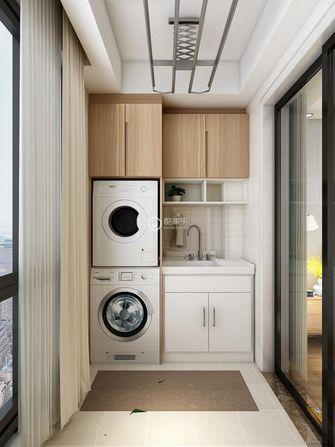 120平米三室两厅日式风格阳台效果图