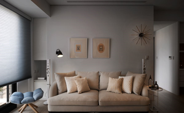 140平米三室三厅日式风格客厅设计图