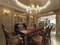 120平米四新古典风格餐厅装修效果图