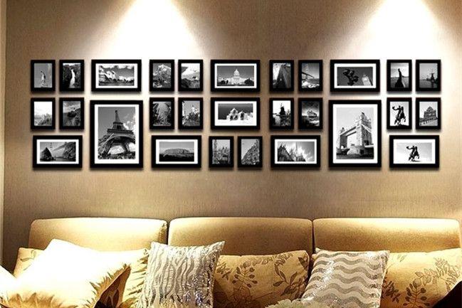 照片墙_家居照片墙安装的13个技巧