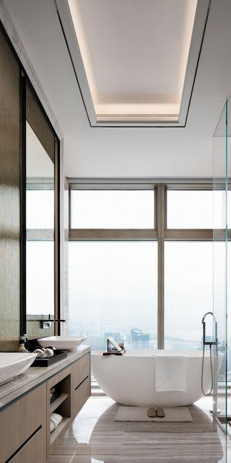 120平米四室一厅现代简约风格卫生间装修图片大全