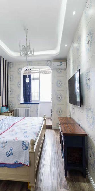 60平米一室一厅地中海风格卧室图片大全