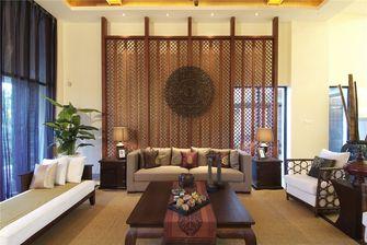 140平米四室四厅东南亚风格客厅图