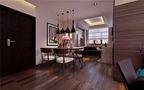 130平米三英伦风格客厅设计图