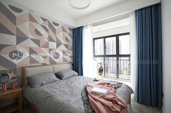 80平米三北欧风格卧室效果图
