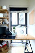 80平米一居室混搭风格书房图片大全