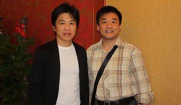 2009年與日本眼周整形醫師久保隆之交流合影