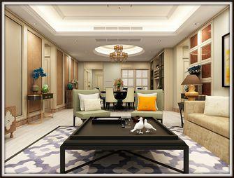 140平米四室一厅欧式风格客厅设计图