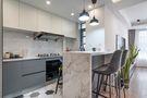富裕型50平米小户型现代简约风格厨房图片