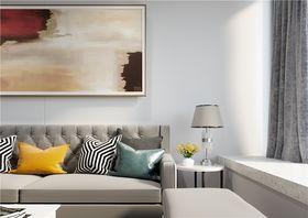70平米現代簡約風格客廳圖
