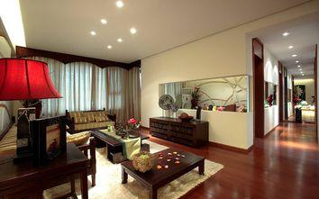 5-10万140平米三室三厅东南亚风格客厅图片大全