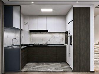 90平米复式现代简约风格厨房图片