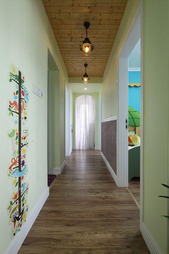 90平米三室两厅田园风格走廊欣赏图