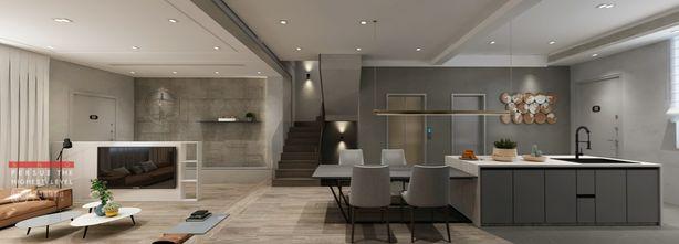 140平米别墅北欧风格厨房装修效果图